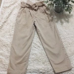 Zara Paper bag pants size 6